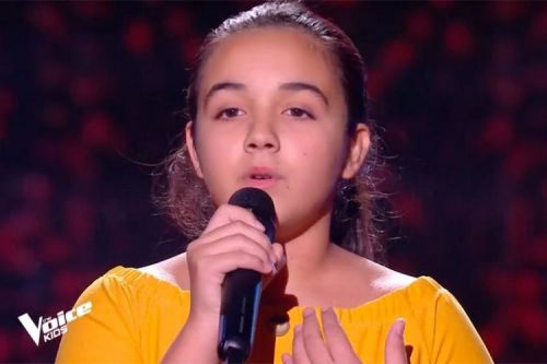 "Replay ""The Voice Kids"":  Emma chante « Addagio » de Lara Fabian"