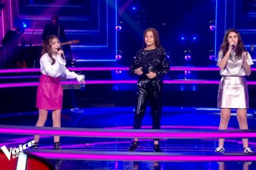 "Replay ""The Voice Kids"":  Sara, Gabrielle & Eva chantent « So Am I » d'Ava Max"