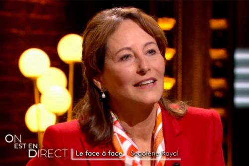 """On est en direct"":  la face à face avec Ségolène Royal"