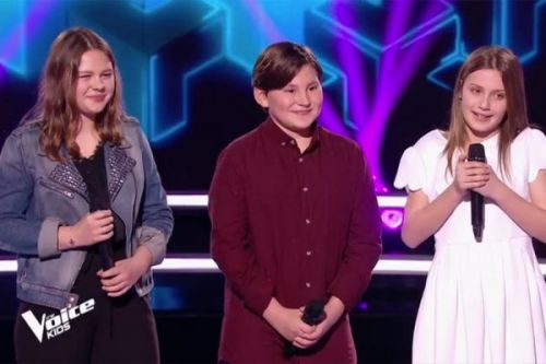 "Replay ""The Voice Kids"":  battle Carla, Léna & Alexandre sur « Un homme debout » de Claudio Capéo"
