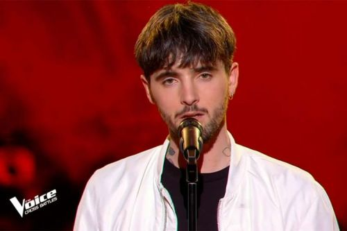 """Replay """"The Voice"""":  Louis Delort chante « In my Blood » de Shawn Mendes"""