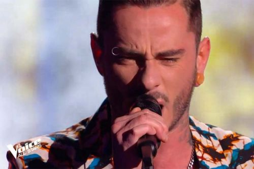 """Replay """"The Voice"""":  Maximilien Philippe chante « Without You » de Mariah Carey"""