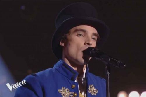 """Replay """"The Voice"""":  Adrien chante « The Greatest Show » BO de The Greatest Show Man"""