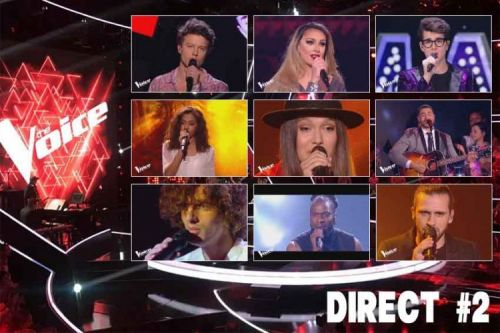 "Replay ""The Voice"" samedi 25 mai:  voici les 12 prestations du 2ème Grand Show en direct"