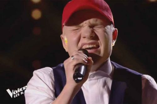 """Replay """"The Voice"""":  Albi chante « She's Out Of My Life » de Michael Jackson"""