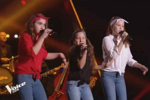 "Replay ""The Voice Kids"":  Les Mini Div chantent « It's raining men » des Weather Girls"